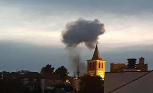 Dos muertos en la explosión de una pirotecnia en Granada