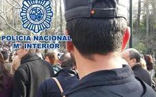 Detenido en Granada por robar en una pescadería y una copistería
