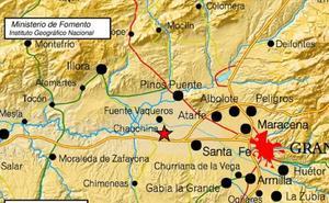 Un terremoto de 2,6 se deja sentir en el área metropolitana de Granada