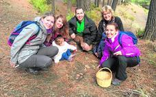 La abundancia de setas en la sierra hace un éxito las Jornadas Micológicas de Abla