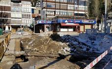 La plaza de Pradollano está abierta en canal a pocos días del inicio de la temporada de esquí