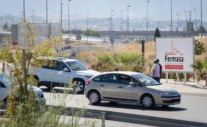 El paso para peatones y bicis de la rotonda del Nevada, para finales del año que viene