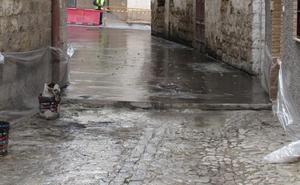 Quejas por el hormigón junto a la antigua iglesia de Santo Domingo