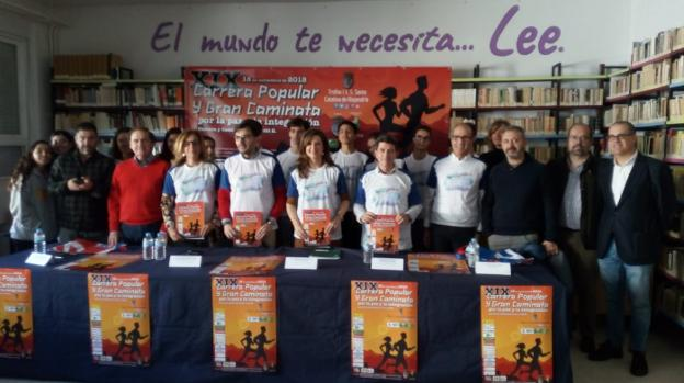 Presentación de la Carrera Popular y Gran Caminata/IDEAL