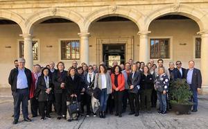 Guadix recibe la visita de los participantes en el XIX Encuentro de Rectores del Grupo Tordesillas