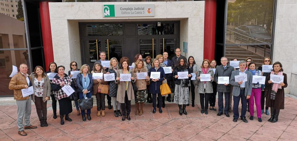 Secretarios judiciales de Granada se suman al paro de dos horas