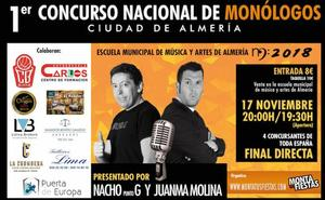 La EMMA celebra el I Concurso Nacional de Monólogos de Almería