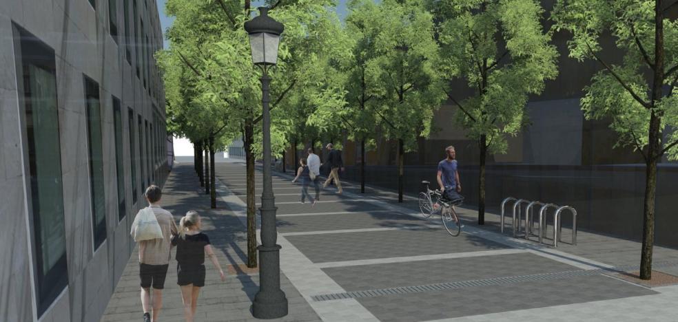 Licitan las obras de peatonalización de varias vías junto a las Cuatro Calles
