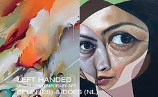 El artista jienense 'Belin' lleva sus propuestas hasta Dortmund, con la exposición 'Left handed'