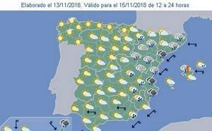 Varias provincias andaluzas están en riesgo por precipitaciones