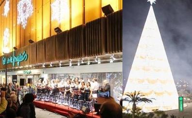 Las novedades de los encendidos de las luces de Navidad en el Nevada y El Corte Inglés este viernes