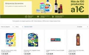 Ebay lanza más de 100 productos por 1 euro