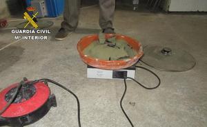 Desarticulan un laboratorio para la elaboración de hachís en Cenes de la Vega