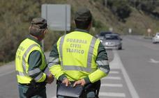La DGT denuncia en Granada a 443 conductores en una semana en una campaña de vigilancia en carreteras convencionales