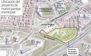 El Ayuntamiento construirá un gran parque frente a Los Cármenes en 2019