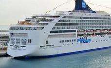 Casi 5.000 personas llegan a Almería en dos cruceros