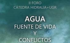 La Cátedra Hidralia+UGR organiza su II Foro bajo el título 'Agua: Fuente de vida y conflictos'