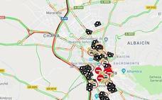 Viernes negro en Granada: un choque múltiple provoca varios kilómetros de atasco en la A-44