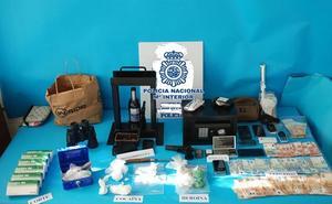 Una operación antidroga de la Policía Nacional en Linares se salda con siete detenidos