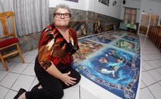 El puzle Disney de récord de Paquita: 40.000 piezas puestas «en ratos libres»