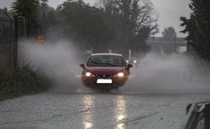 Domingo de lluvia en toda Andalucía