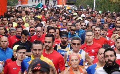 Más de mil corredores retan y amainan la lluvia