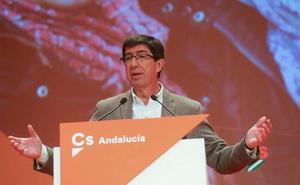 Juan Marín: «Yo quiero liderar un gobierno con el apoyo del PP»