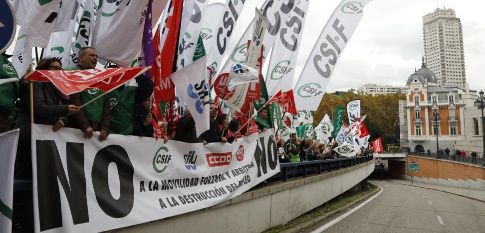 La administración de Justicia, en pie de huelga contra la ministra Delgado