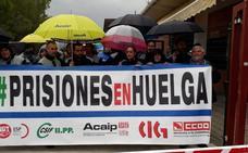 El seguimiento de la huelga en la prisión, del 100% según los sindicatos
