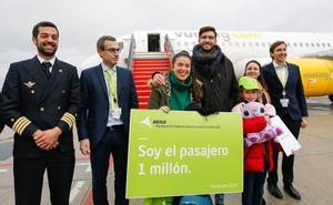 El aeropuerto de Granada-Jaén recibe a la pasajera un millón y supera todas las estadísticas de años anteriores