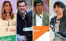 En directo   Primer debate de los cuatro candidatos a gobernar Andalucía