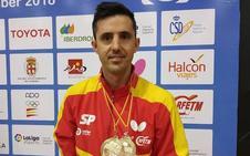 Dos medallas para José Manuel Ruiz en el Open Internacional de España