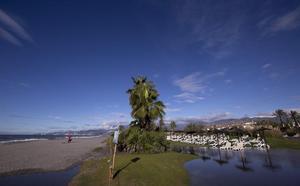 El temporal vuelve a 'comerse' Playa Granada
