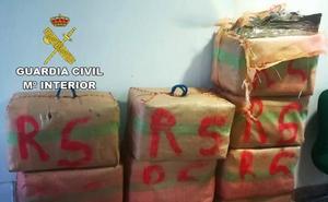 Un detenido con 350 kilos de hachís en la Autovía de Andalucía