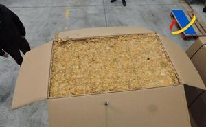 Incautadas 4,5 toneladas de tabaco de contrabando en Granada