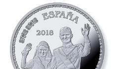 Descubre las nuevas monedas con la Familia Real al completo por primea vez