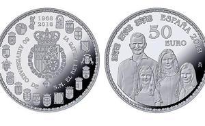 Así son las nuevas monedas de colección con la Familia Real al completo que ya pueden ser tuyas