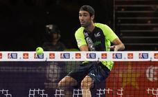 Javi Ruiz, eliminado en los octavos de final del Murcia Open