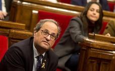 Torra encarga a su «ministro de Exteriores» el reconocimiento internacional de Cataluña