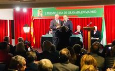 La casa de Granada en Madrid distingue al diario Ideal