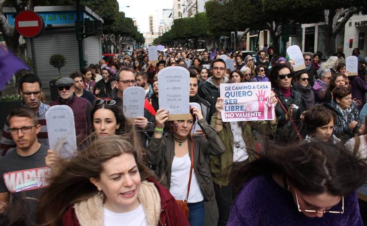 Encuéntrate en la manifestación de Almería contra la violencia de género