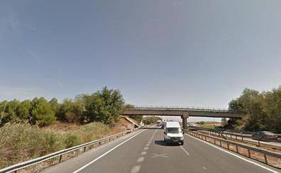 Herido grave en un siniestro en la A-92 en Granada