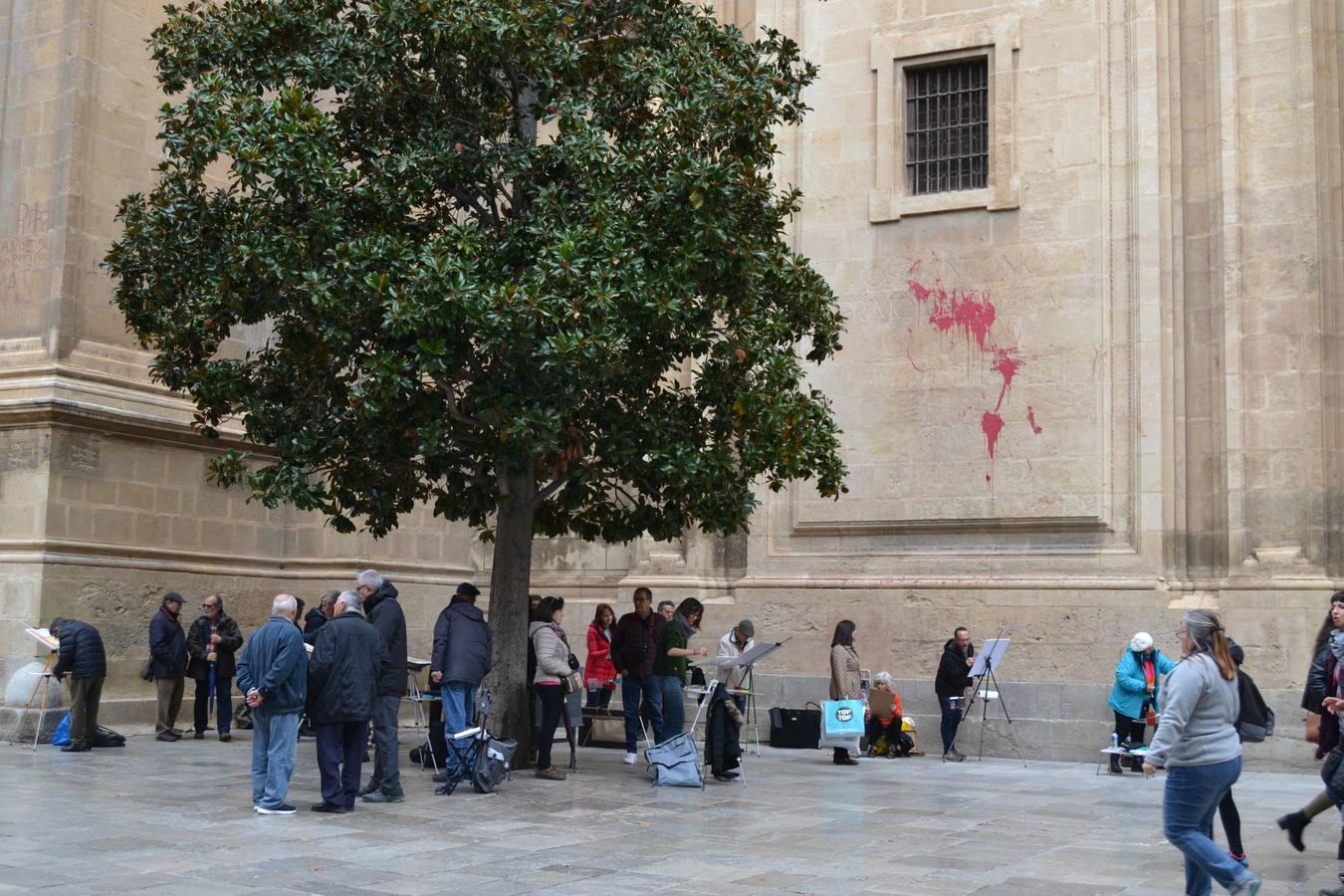 Día Mundial de la Acuarela en Granada