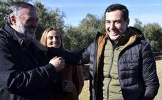 Juanma Moreno propone en Loja una Ley de Promoción de la Industria andaluza