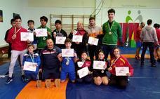 El club Blas González logra 15 medallas de oro en el Campeonato de Andalucía