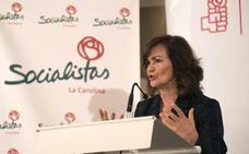 Calvo: «Susana Díaz tiene que seguir con el timón»