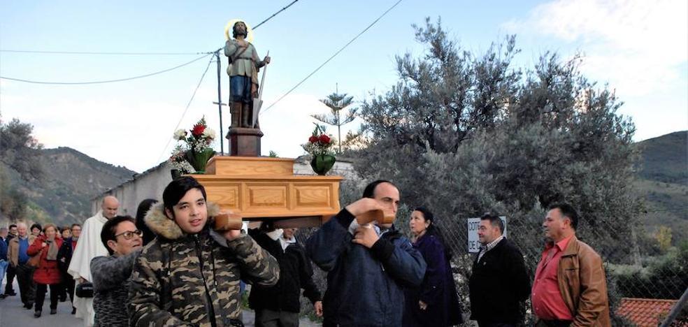 La aldea de Tíjola celebra en plena naturaleza sus fiestas patronales en honor a Santo Corvero