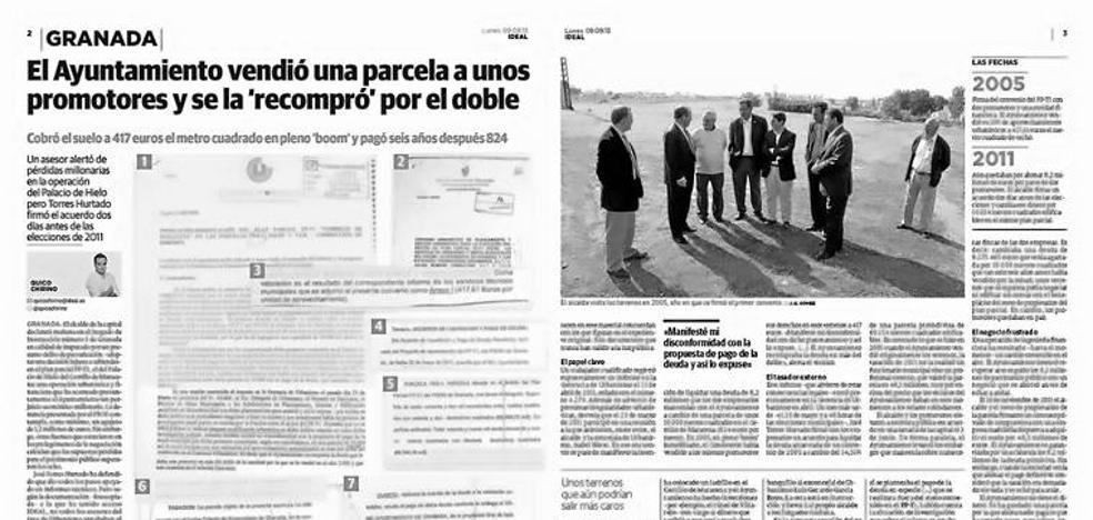 Operación Nazarí: la reunión en la que se liquidó una deuda millonaria y el 'montaje' del acta