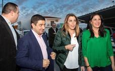 Susana Díaz pide movilización ante la «triple alianza de derecha y extrema derecha»