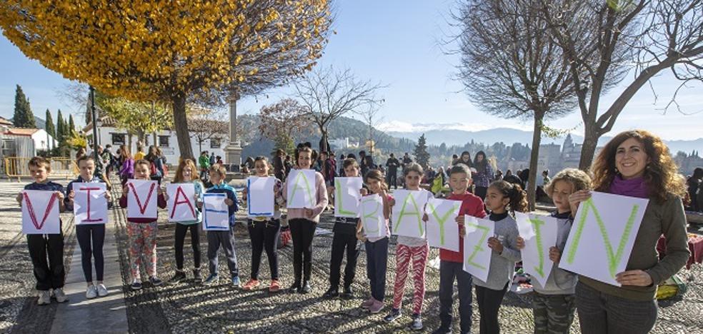 El rap reivindicativo de los escolares del Albaicín